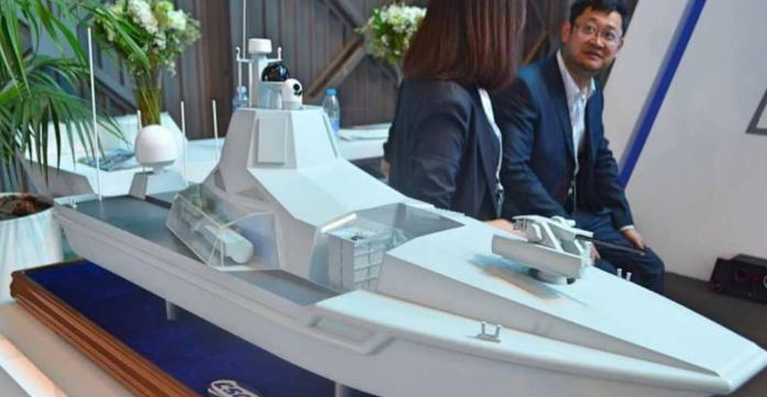 سفن روبوتية صينية