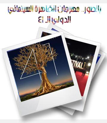 مهرجان القاهرة السينمائي الدولي في دورته الـ 41
