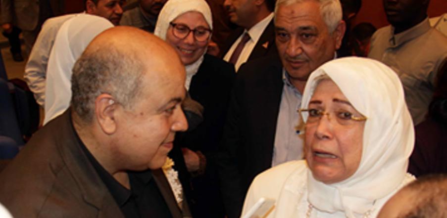 ياسمين الخيام تتحدث مع عقيدتي