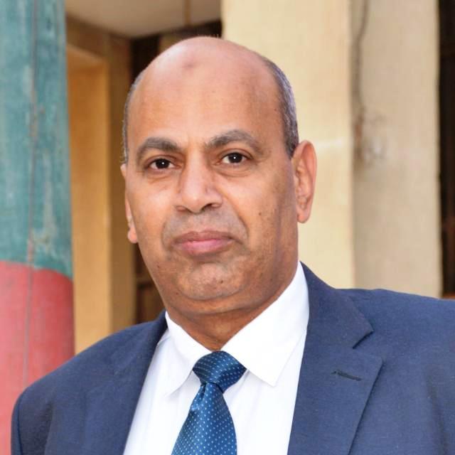 رئيس جامعة المنيا دكتور مصطفى عبد النبى