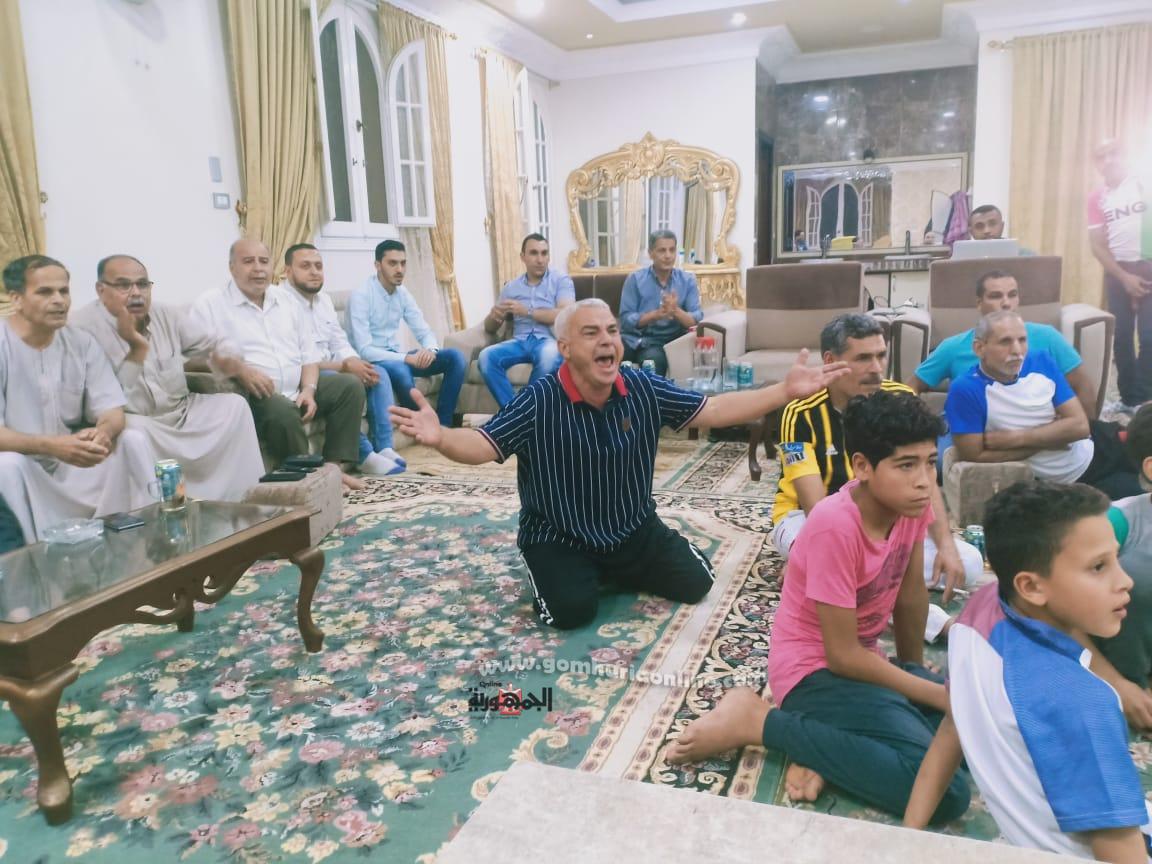 الفرح والسعادة بين أهالي قرية نجريج، مسقط رأس النجم المصري محمد صلاح