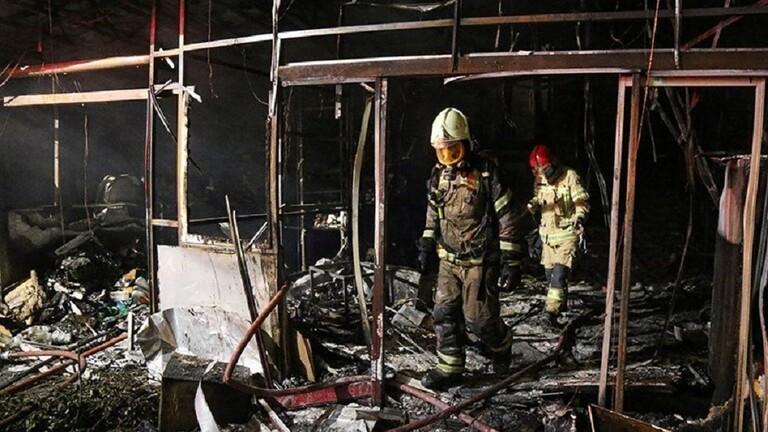 إنفجار سابق فى طهران