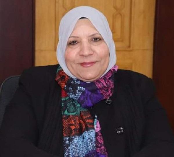 دكتورة تحية أبو شعيشع عميدة كلية الدراسات الإنسانية للبنات جامعة الأزهر