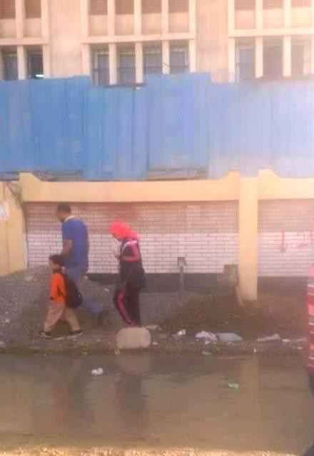 الطريق لمدرسة فاروق جرانه