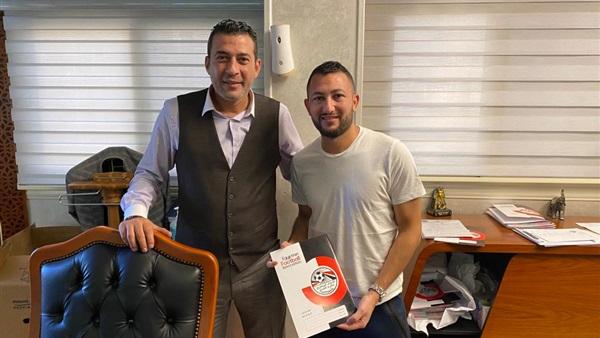 محمد رجب لاعب المصرى السلومى الجديد