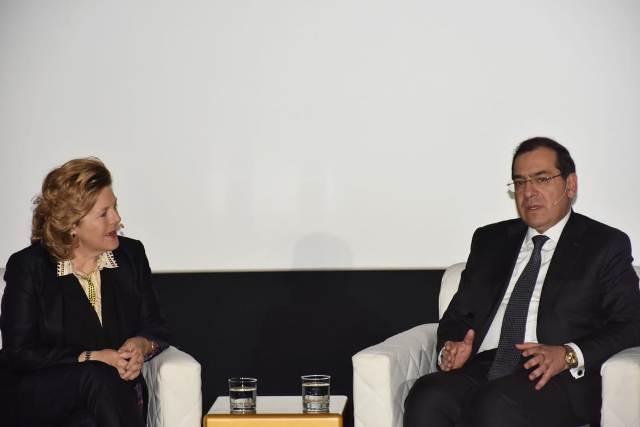 وزير البترول خلال إحدى جلسات مؤتمر إيجبس 2019