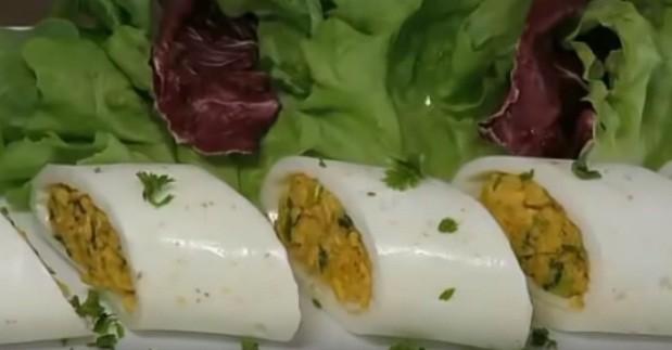 البيض الاسطوانى