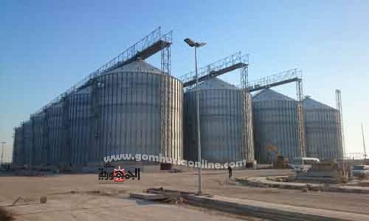 ارتفاع مخزون الغلال بميناء الاسكندرية