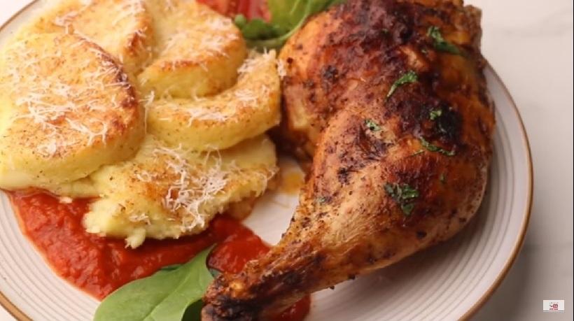 دجاج جوسى فى الفرن