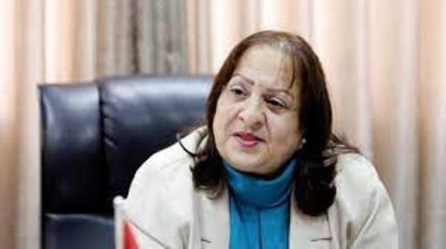 وزيرة الصحة الفلسطينية ثلاث حالات وفاة و486 إصابة جديدة بكورونا