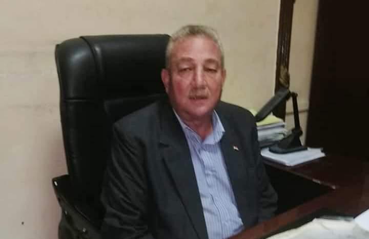 عبد الفتاح فكرى رئيس النقابة العامة للعاملين بسكك حديد مصر ومترو الانفاق