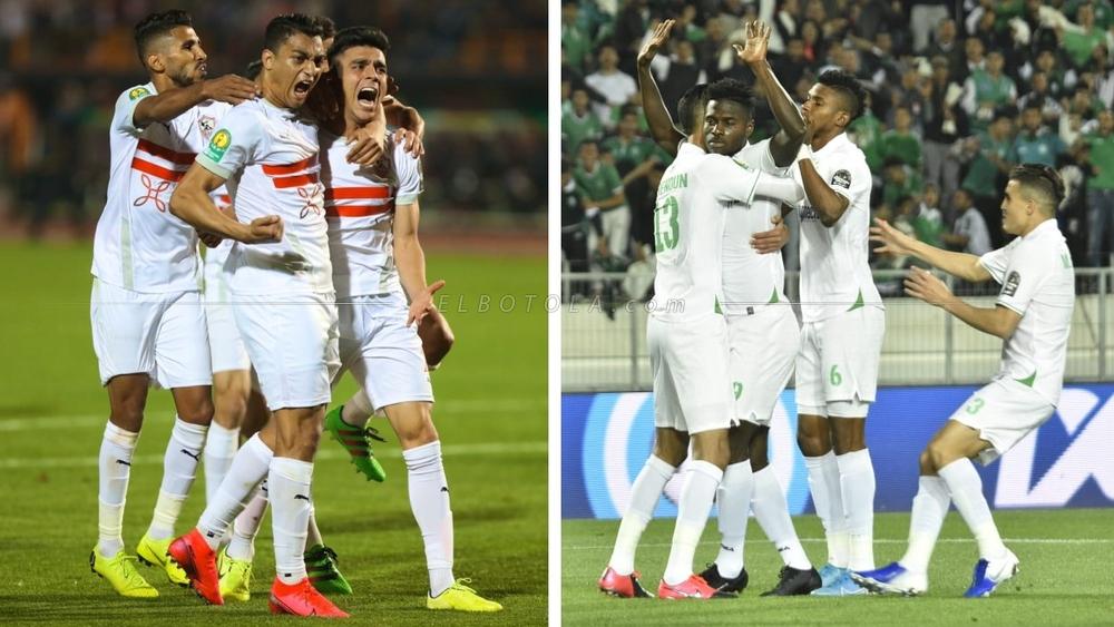 بوابة الجمهورية اون لاين | الزمالك و الرجاء المغربى في ذهاب نصف نهائي دوري  أبطال إفريقيا موعد المبارة