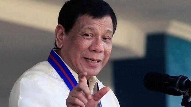 رئيس الفلبين رودريجو دوتيريتى