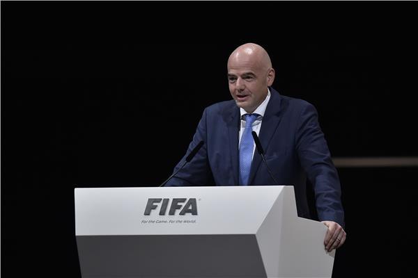 جياني إنفانتينو رئيس الاتحاد الدولى لكرة القدم