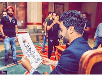 أحمد جمال يشعل انستجرام بصورة جديدة