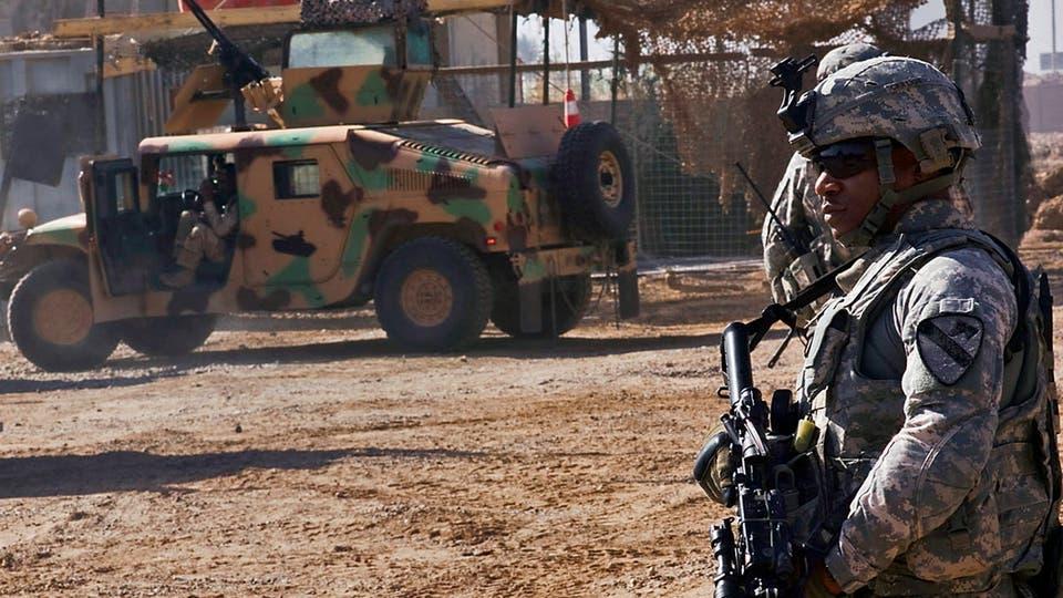 معسكر التاجي العراق