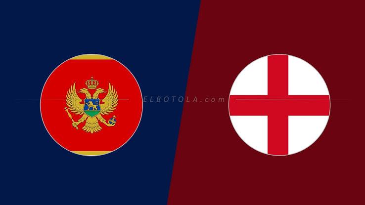 مباراة إنجلترا ومونتنجرو