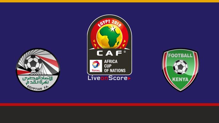 مشاهدة البث المباشر لمباراة مصر وكينيا