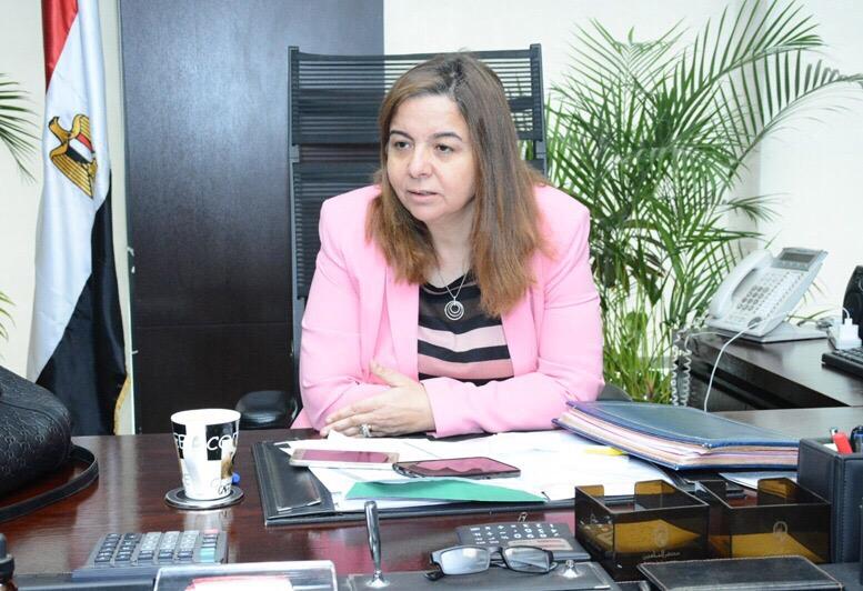 مى عبدالحميد، الرئيس التنفيذى لصندوق الإسكان الاجتماعى