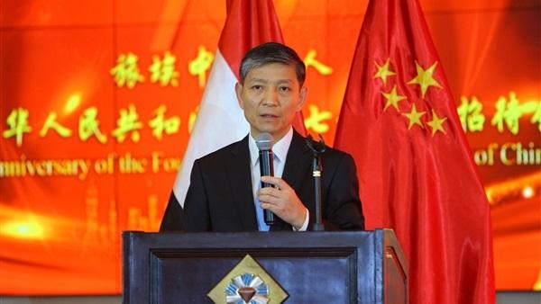 سفير الصين بالقاهرة لياو ليتشيانج