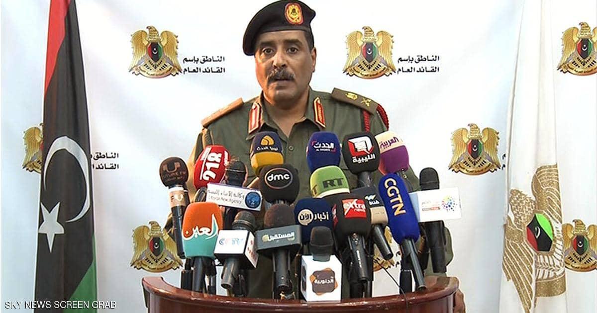 أحمد المسماري المتحدث باسم الجيش الوطنى الليبي