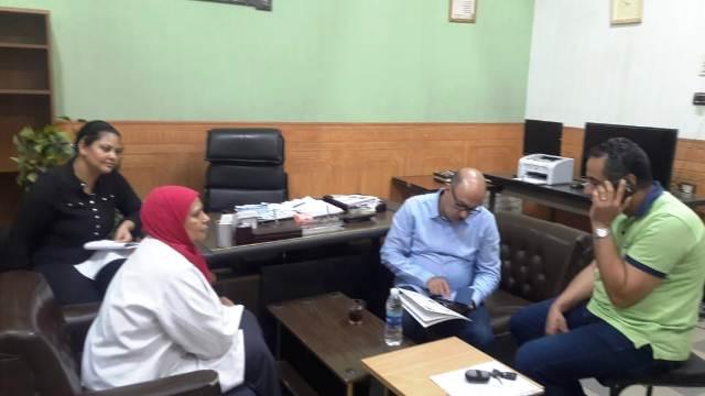 وكيل وزارة الصحة بأسيوط يفاجئ مستشفى أسيوط العام والنساء والتوليد والأطفال بالصور