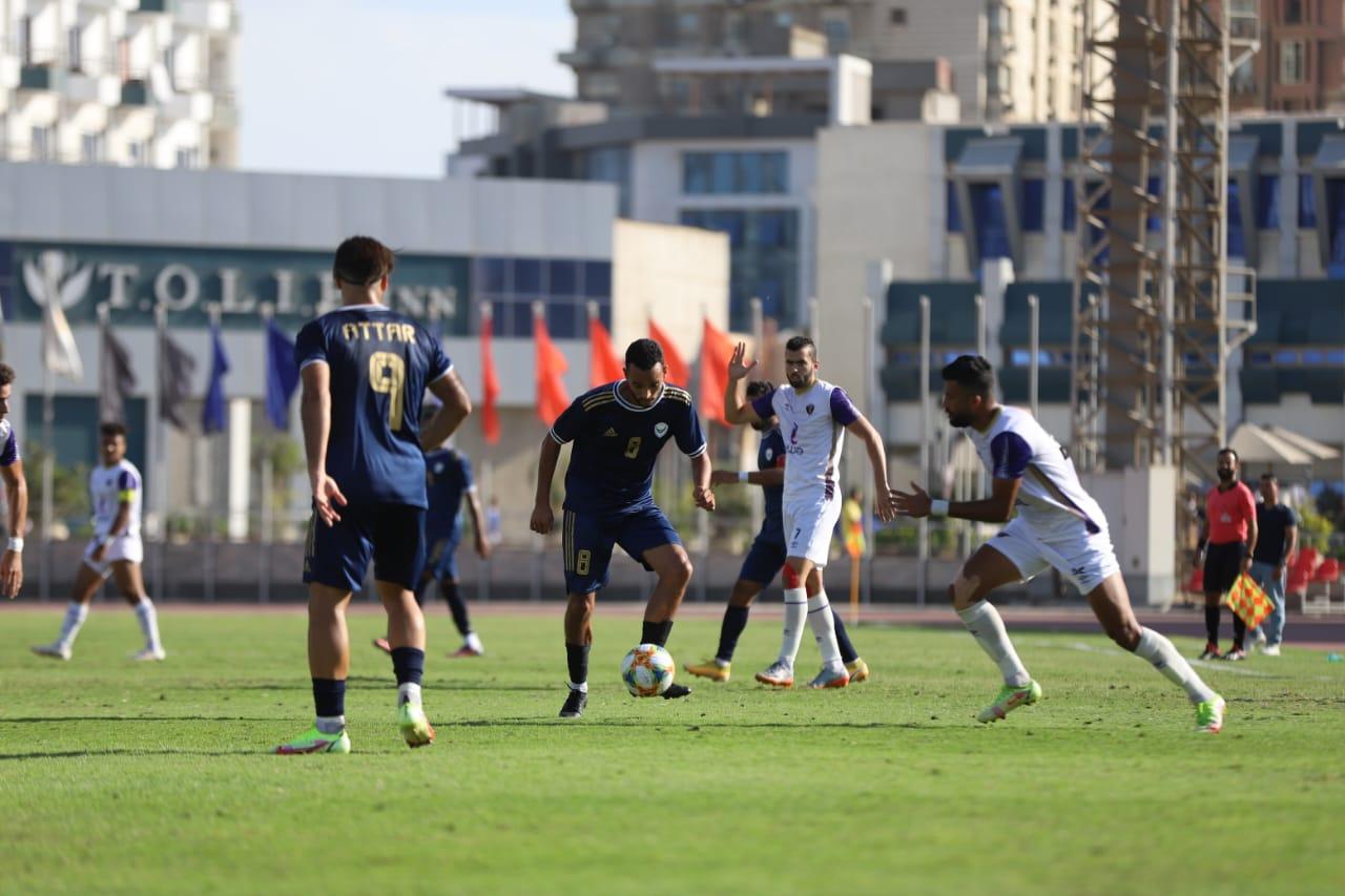 لقطة من مباراة الاتصالات مع النصر