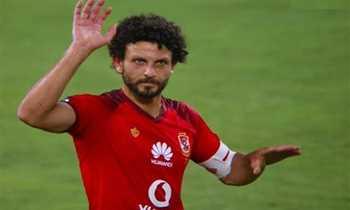 حسام غالى لاعب فريق الأهلى السابق، ومنسق الكرة بالنادى