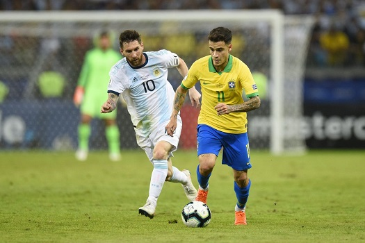 بث مباشر مباراة البرازيل والارجنتين