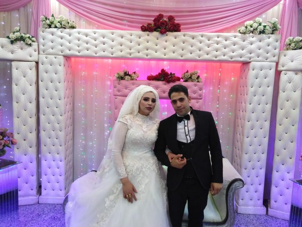 زفاف علاء ونورهان