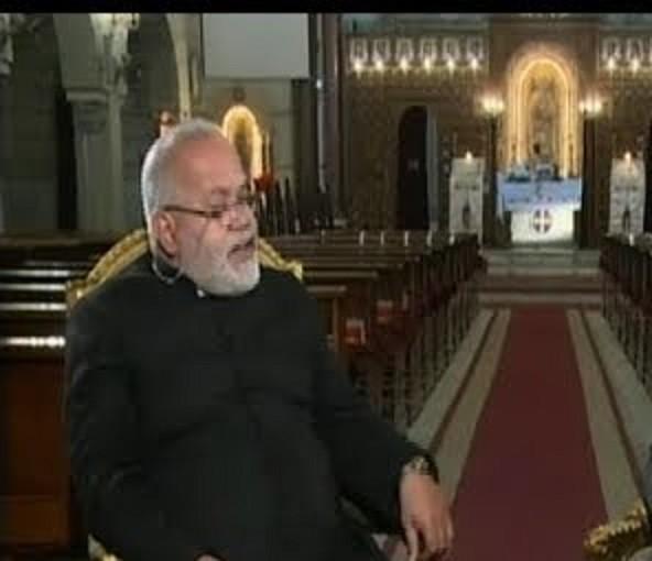 الأب بولس جرس الأمين العام لمجلس كنائس مصر