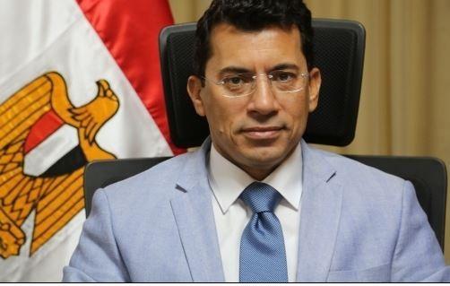 وزير الشباب والرياضة أشرف الصبحى