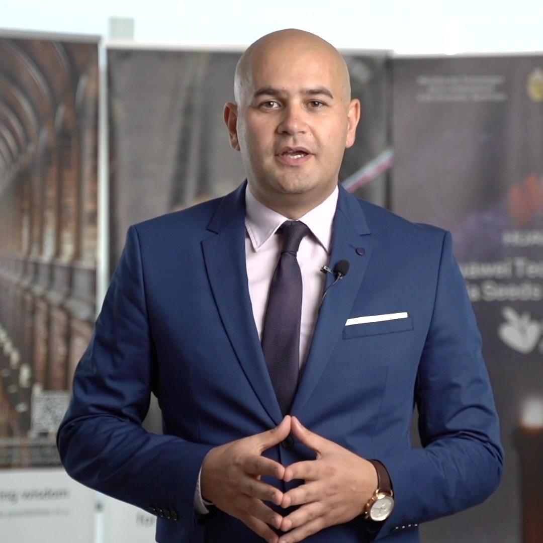 عدنان بن حليمة- نائب رئيس شركة هواوي لمنطقة شمال إفريقيا
