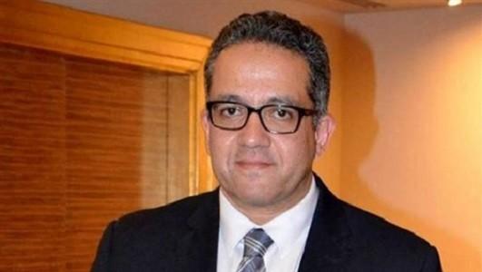 د.خالد العناني وزير الأثار