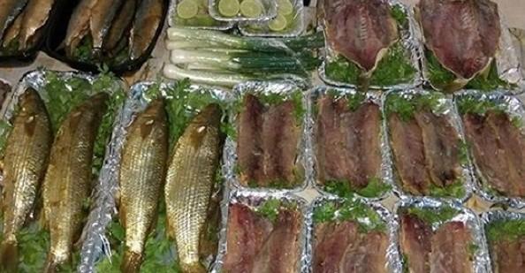 التعرف على سلامة الاسماك المملحة