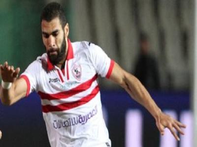 محمود عبدالعزيز لاعب الزمالك