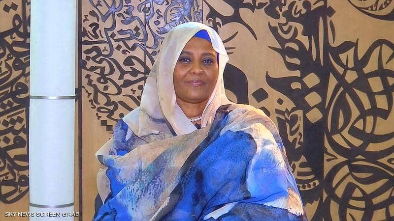وزيرة الخارجية السودانية