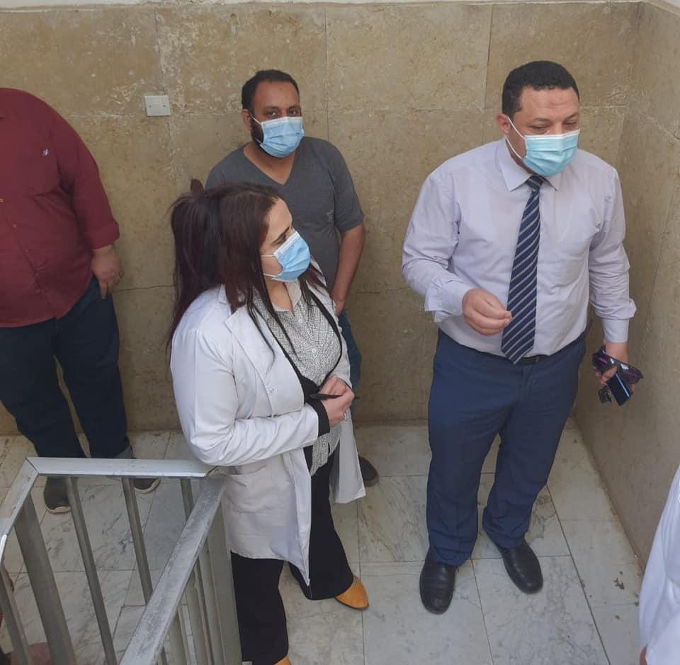 الدكتور فيصل جودة وكيل وزارة الصحة بالمنوفية