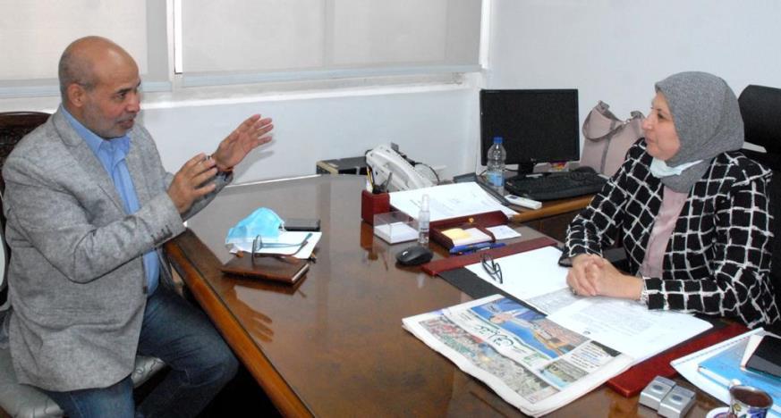 الدكتورة هالة رمضان في حوارها مع عقيدتي