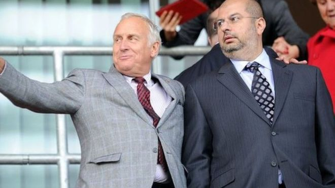 الأمير السعودي عبد الله (يمين الصورة) عمل مع شريكه ماكابي لمدة 6 أعوام