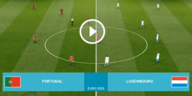 مباراة البرتغال ضد لوكسمبورغ