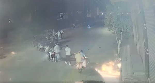 حادث تصادم بمنوف