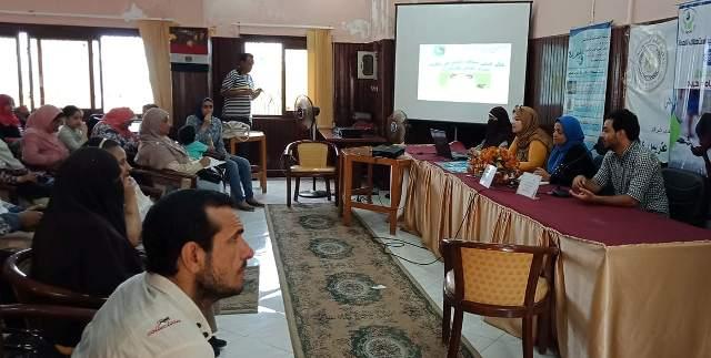 ندوة مخلفات الأضاحى بمركز النيل للأعلام