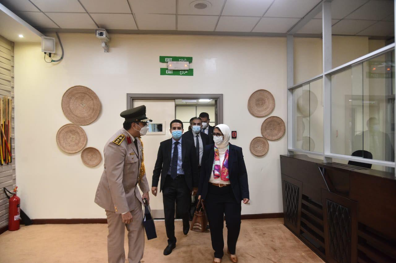هالة زايد تصل أوغندا لافتتاح المركزي الطبي المصري  للرعاية الصحية بجينجا