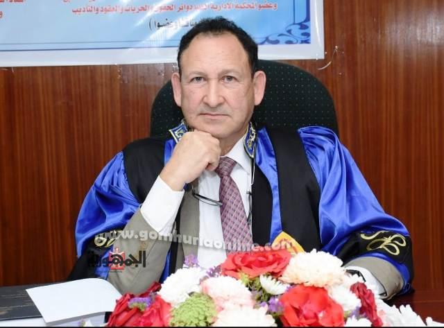 المستشار الدكتور محمد عبدالوهاب خفاجى نائب رئيس مجلس الدولة