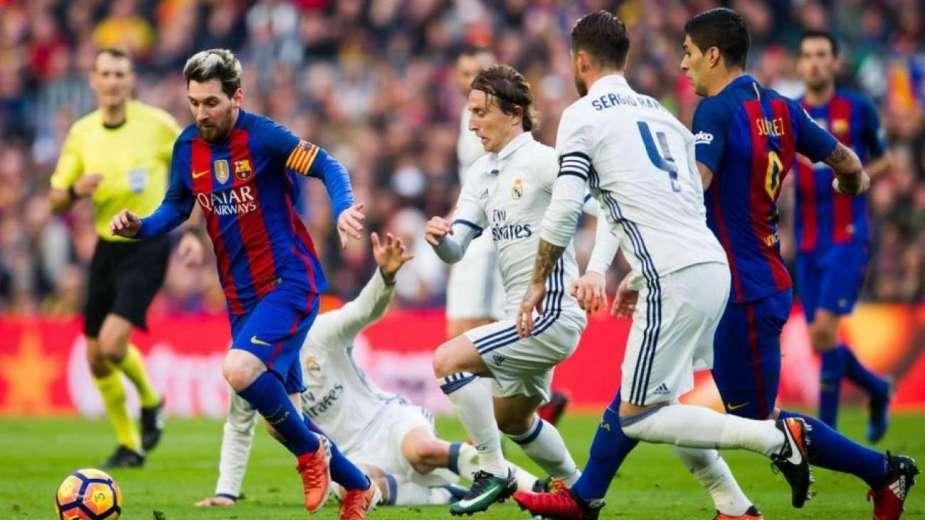 مباراة برشلونة ضد ريال مدريد