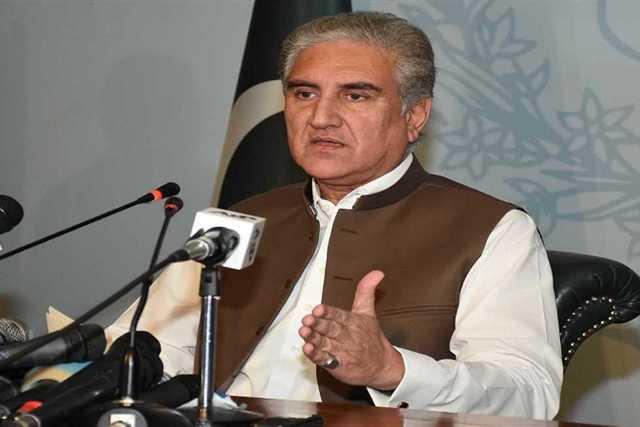 وزير الخارجية الباكستانى شاه محمود قريشى