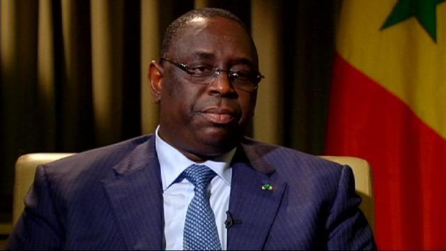 رئيس السنغال ماكى سال