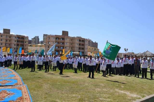المهرجان الكشفى الاربعوم لجوالى جامعة الاسكندرية