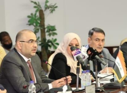 أركان شهاب وزير الاتصالات العراقى